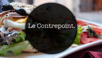 Restaurant Le Contrepoint.