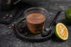 Mousse chocolat noir kalamansi